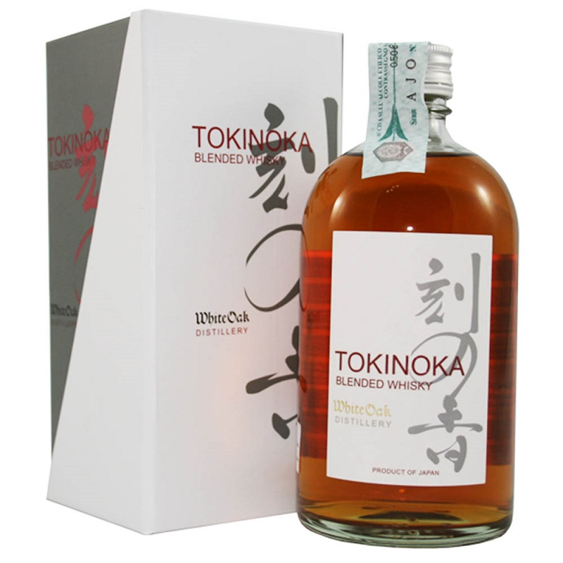 Tokinoka White Oak Blended Japan whisky 0,5