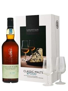 Lagavulin 16 Year Old Food Gift glass pack - dárkové balení