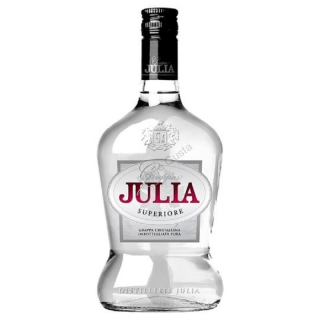 Julia Superiore Cristalinna Grappa 0,7