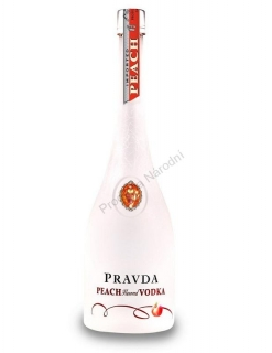 Pravda Peach vodka 0,7
