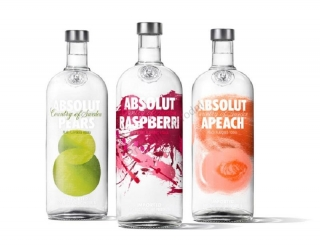 Absolut ochucená vodka