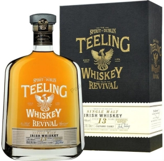 Teeling 13 yo Vol II Calvados Cask Revival whiskey