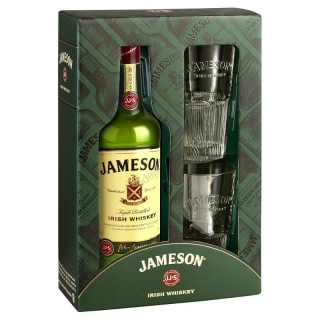 John Jameson Irish Whiskey Gift Pack 0,7
