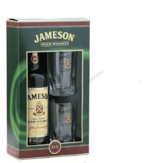 John Jameson 12 yo two glass pack gift pack 0,7