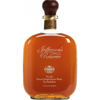 Jefferson's Reserve Very Old Small Batch Bourbon Whiskey 0,7