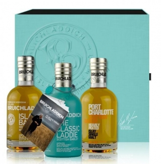 Bruichladdich Wee Laddie Tasting Collection Single malt Islay whisky box
