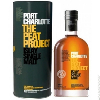Whisky Port Charlotte Peat project Islay 0,7