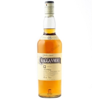 Cragganmore 12 years old single malt Speyside whisky