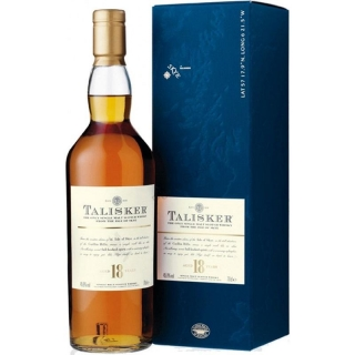 Talisker 18 Year Old Scotch Whisky 0,7