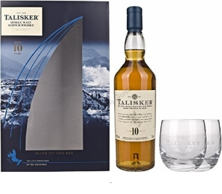 Talisker 10 Year Old Gift Pack whisky 0,7