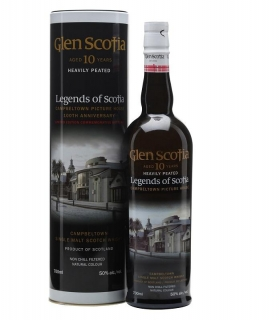 Glen Scotia 10 Year Old Legends of Scotia Whisky 0,7