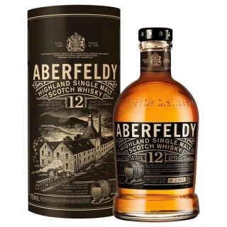 Aberfeldy 12 year old single malt Highlands whisky 0,7