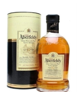 Aberfeldy 12 years old single malt Highlands whisky 1l