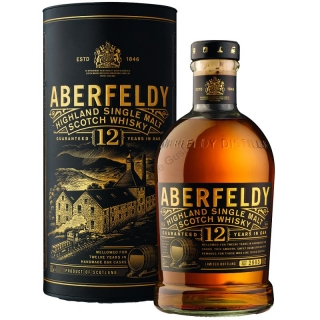 Aberfeldy Limited release 12 years old single malt Highlands whisky 0,7