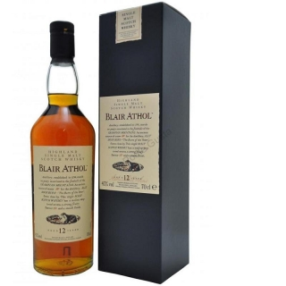 Blair Athol 12 Year Old - Flora and Fauna Whisky 700ml
