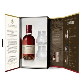 Aberlour a'Bunadh Batch 47 Single Malt Scotch 2 glasses Gift pack whisky