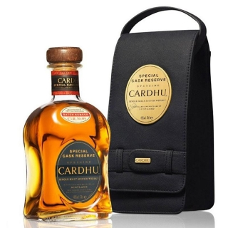 Cardhu Gold Reserve whisky with Leather box 0,7