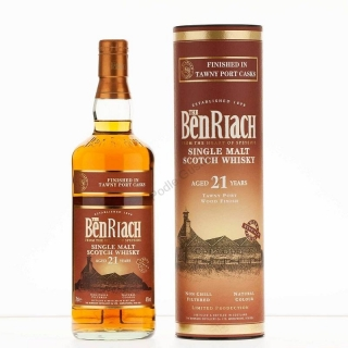 BenRiach 21 Year Old Tawny Port Cask Finish Whisky 0,7