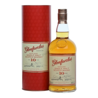 Glenfarclas 10 Year Old whisky 0,7