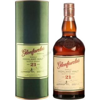 Glenfarclas 21 Year Old whisky 0,7