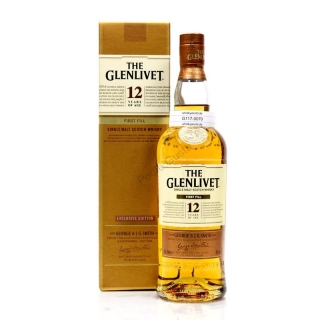 Glenlivet 12 Year Old First Fill whisky 0,7