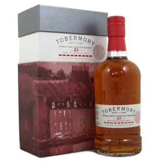 Tobermory 21 Year Old Manzanilla Finish whisky 0,7