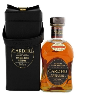 Cardhu Special reserve 12.14 leather box whisky