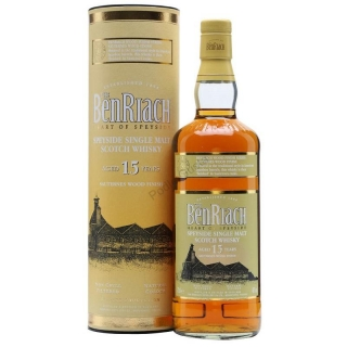 BenRiach 15 Year Old Sauternes Finish Whisky 0,7