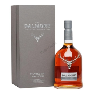Dalmore 2001 Vintage 15 Year Old whisky 0,7