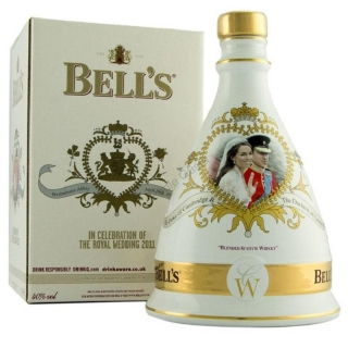 Bell's Royal Wedding Decanter 2011 Blended Whisky
