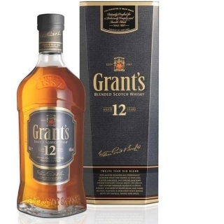 Grant's 12 Years Old Cas Selection Blended Scotch whisky 1l