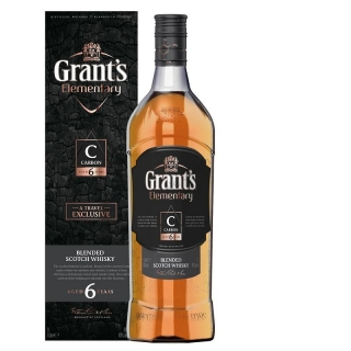 Grant's Elementary Carbon 6 Years whisky 0,7