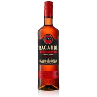 Bacardi Carta Fuego Red Spiced Rum 0,7