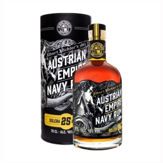 Austrian Empire Navy Solera 25 Years Old rum 0,7