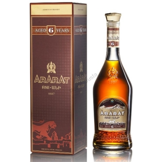 Ararat Ani 6 Years Old Armenia brandy 0,7