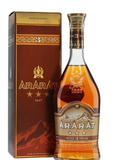 Ararat Three Stars Aged 3 Years Old Armenian brandy 0,7