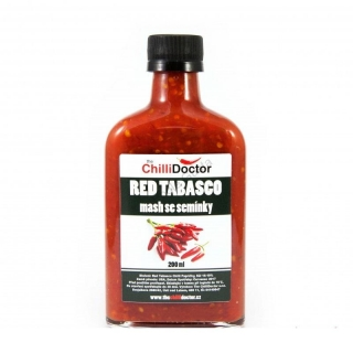 The Chilli Doctor Red Tabasco mash se semínky 200ml