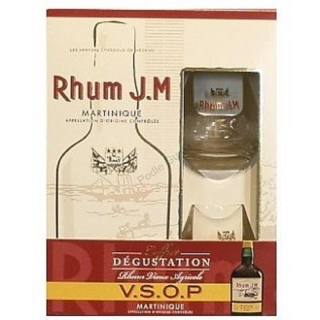 J. M. VSOP 2 Glass Pack Rhum