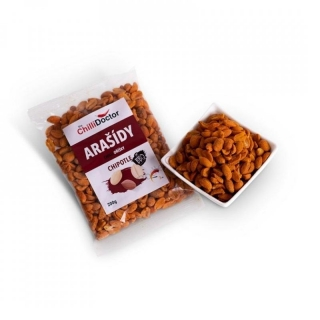 Chilli arašídy - Chipotle-Barbecue 200 g