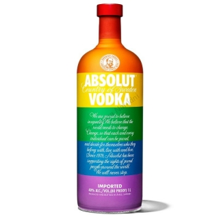 Absolut Colors vodka 0,7
