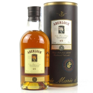 Aberlour 15 Year Old - Cuvee Marie d'Ecosse Scotch Whisky 0,7
