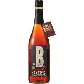 Baker's 7 yo Bourbon Whiskey 107 Proof 0,7