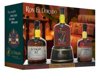 El dorado Display- 3 ks 12 yo, 15 yo, 21 yo- rumy