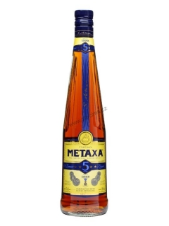 Metaxa 5*brandy 1l