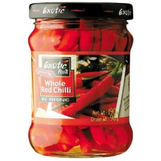 Exotic Food Red Chilli 190g