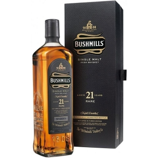 Bushmills 21 yo whiskey 0,7