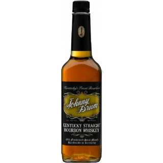 Johnny Drum Black Label Bourbon whiskey 0,7