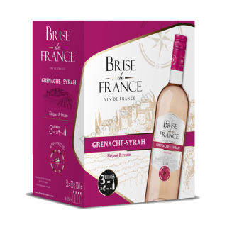 Brise de France Brise de France Grenache-Syrah 3L Francie Bag in Box