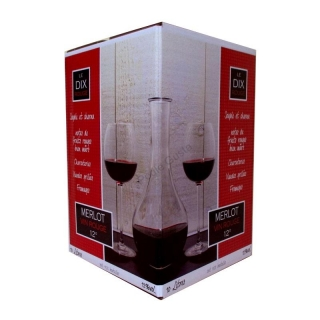 Víno Merlot 10 Litrů Bag in Box
