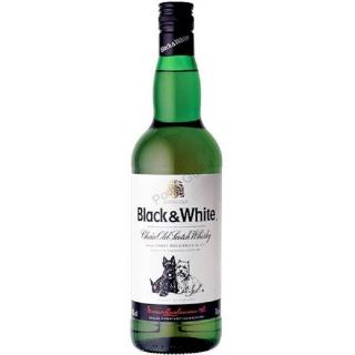 Black & White whisky 1l